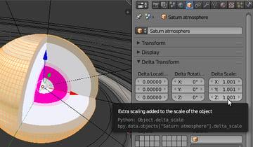 Creating Saturns atmosphere