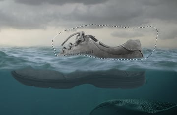 shoe fill layer masking