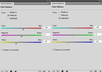 BD 5 color balance