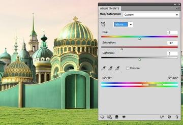 domes hue saturation 1