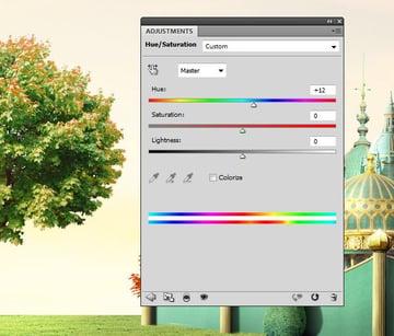 tree2 2 hue saturation 2