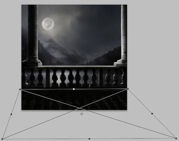 balcony shadow perspective