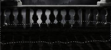 balcony shadow filter mask