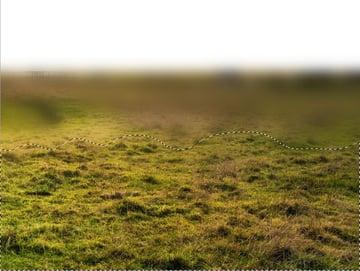 ground gaussian blur masking