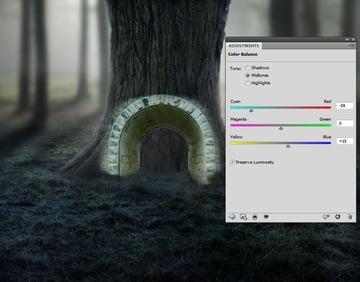 gate color balance