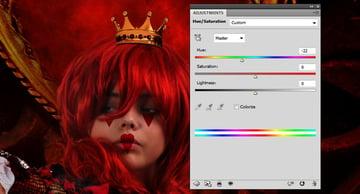 crown color balance