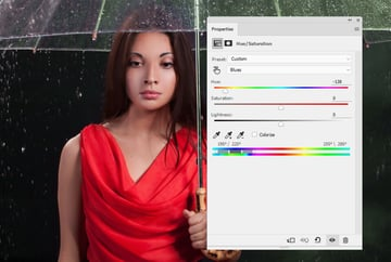 model hue saturation 2