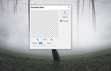shadow gaussian blur