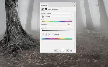 tree 1 hue saturation