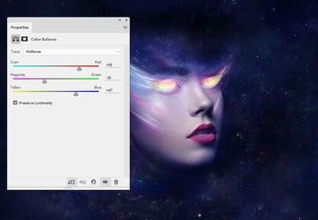nebula 2 color balance