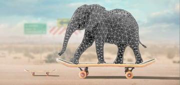 elephant puppet wap