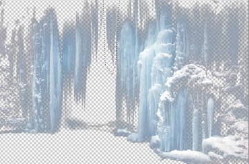select an icicles part