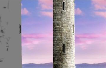 tower burning result
