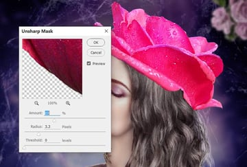 rose 2 unsharp mask 1