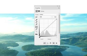 boat photomanipulation - landscape 1 curves 1
