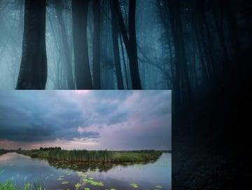 fantasy digital art - add pond