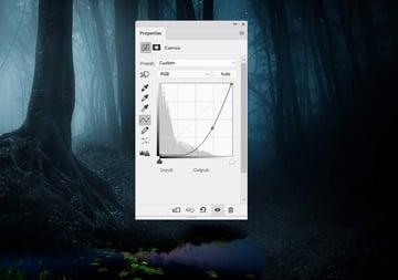 fantasy digital art - pond curves
