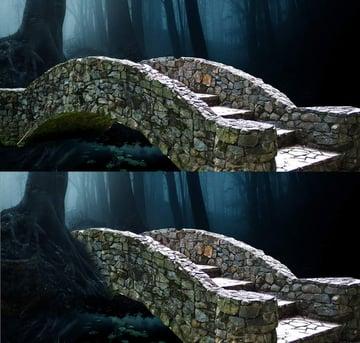 fantasy digital art  -add bridge