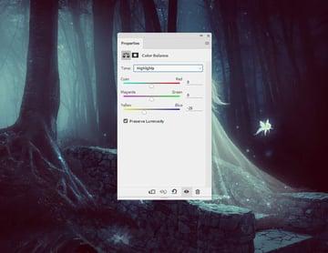 fantasy digital art - whole scene color balance 1 highlights