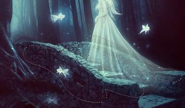 fantasy digital art - whole scene curves masking