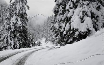 photo manipulation - winter curves 1 masking