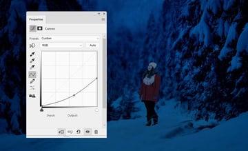 photo manipulation - model curves 1