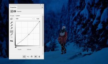 photo manipulation - model curves 2