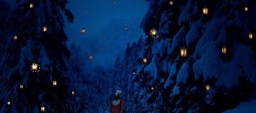 photo manipulation - paint lanterns highlight