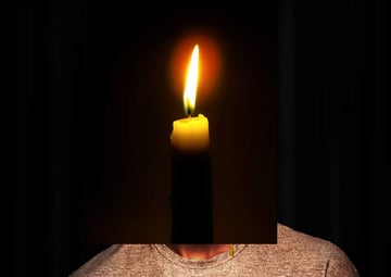 photo effect - add candle 2