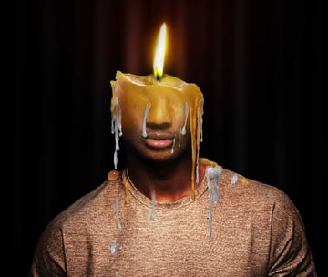 photo effect - wax 2 masking