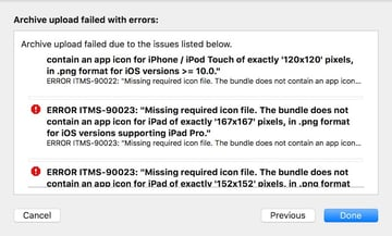 An Error is Shown if Validation Fails