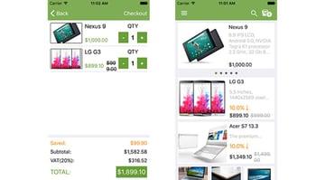 iOS Mobile Shop
