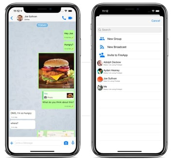 FireApp Chat IOS