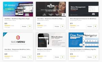 WordPress plugins for navigation