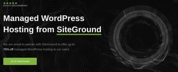 Managed WordPress Hosting From SiteGround