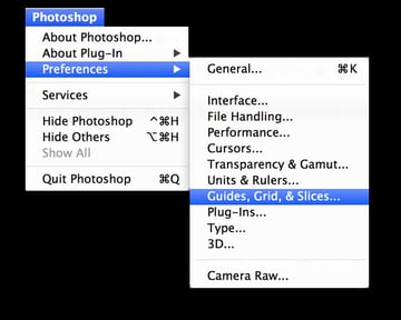 How to find the option to adjust your grid sizes