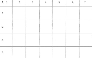 As with our reference you can label your drawn grid to make life simpler