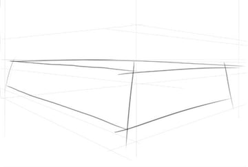 Drawing a simple box following our guideline layer