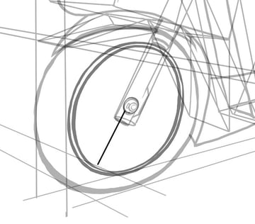 It is a simple design for this wheel