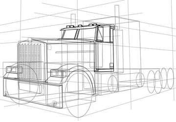 The cab can be tricky as many parts overlap each other Use care