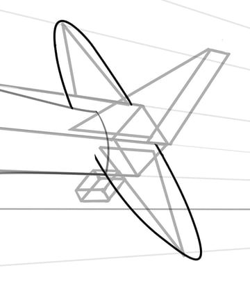 The smaller rear flaps follow the same design as the main wings