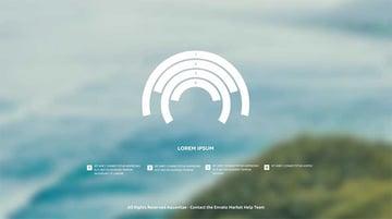 Simple radial inforgraphic