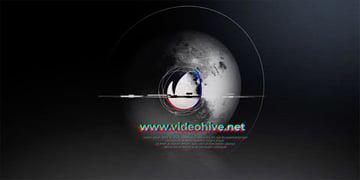 Moon DaVinci Resolve Logo Animation Template