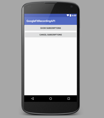 Simple User Interface for the Recording API Tutorial App