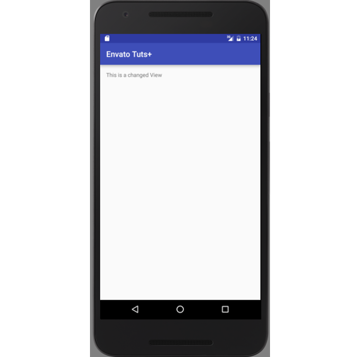 Example of an Updated TextView