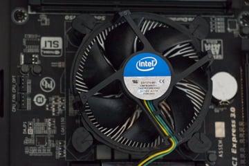 The CPU fan