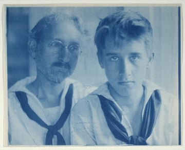 FH Day and Maynard White in sailor suits portrait