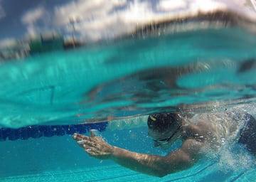 swimmer side on