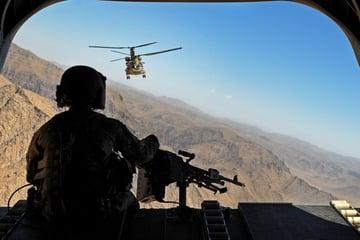 rear door gunner view