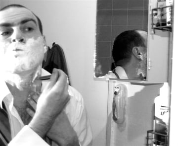 barber self portrait